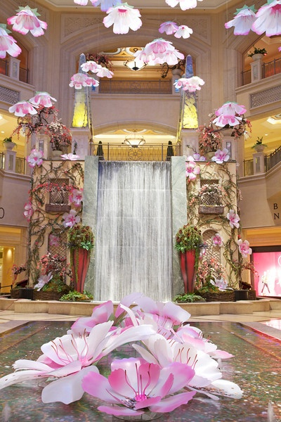 at the Palazzo Hotel Las Vegas..ahh can't wait to stay here in August