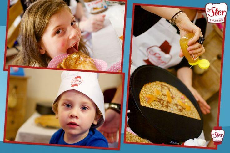 Petits et grands adorent les crêpes Le Ster Le Pâtissier !