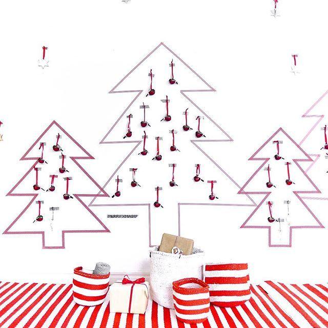 Christmas trees, little birds and stars - Mifuko Christmas Market decorations / Joulukuusia, pieniä lintuja ja tähtiä - Mifukon joulumyyjäisten koristeluja