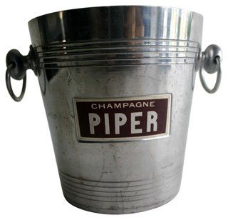 French Piper Champagne Bucket