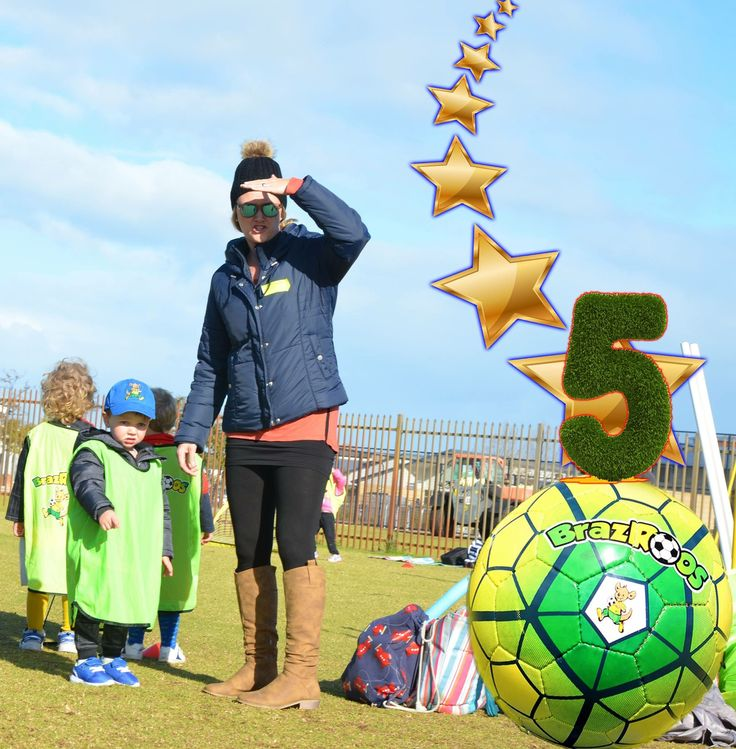 That's it the #countdown has started:  #5 #SLEEPS before meeting us all again on our #fantastico ovals in #HallsHead and #Lakelands!!!  Are you ready for an incredible #Term3 #WINTER #soccer??  #BrazRoos #Team is and can't wait :-)  If you haven't done it yet Book your #FREE #trial or #Enrol NOW: 0484 665 965 or info@brazroos.com.au