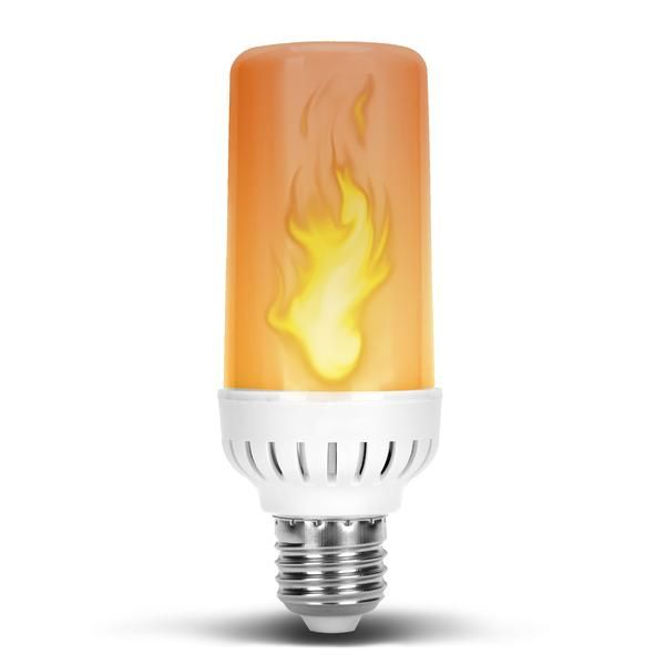 Flame Effect Dc 12 Volt Led Fire Light Bulb Flaming Flicker E26 E27 Bulb Solar Power Diy Solar Panels