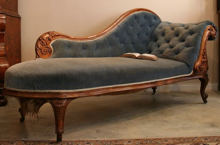 Victorian Chaise Lounge Chair  Victorian Lounge Chairs
