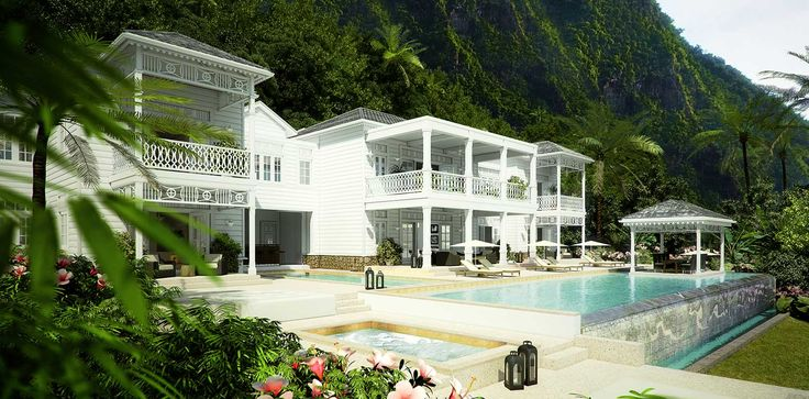 The Glenconner Residences: St. Lucia Luxury Properties in Paradise