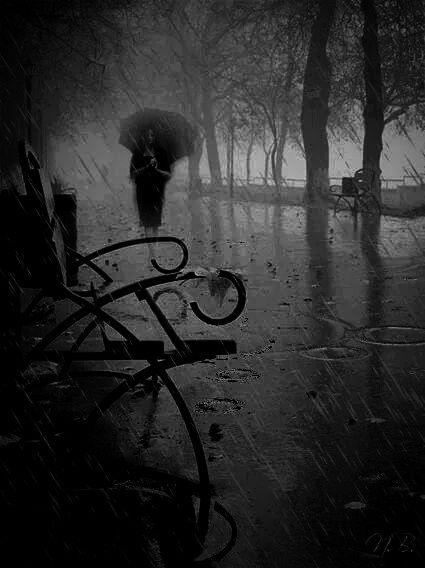 ﻻتتركني وترحل ..فالمطر يزيدني عذاب الى عذابي ......بقلمي هدهد