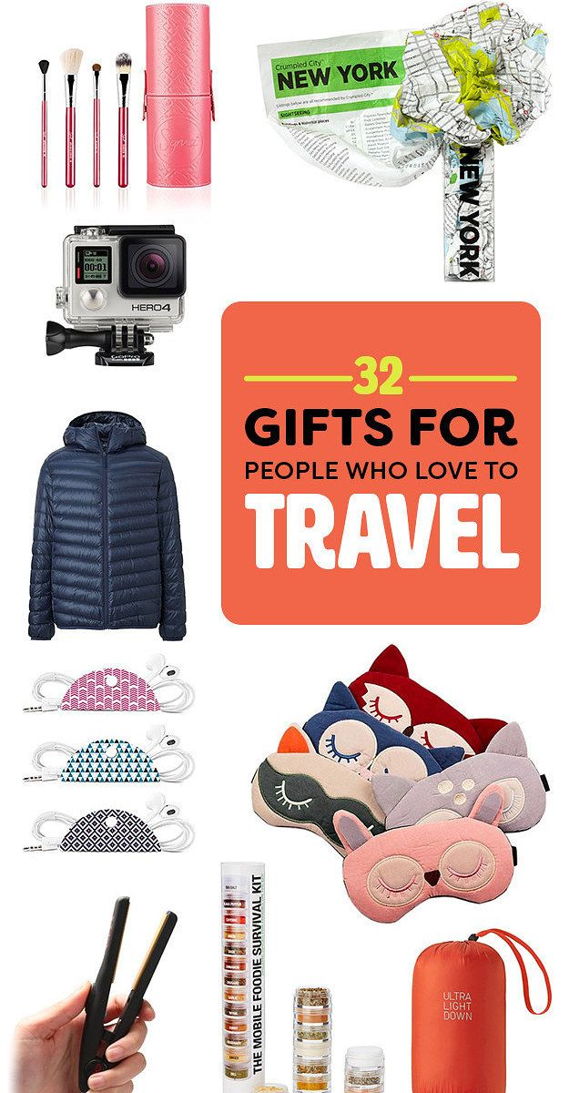 34 Gifts For People Who Love To Travel http://amzn.to/2u2NZAW