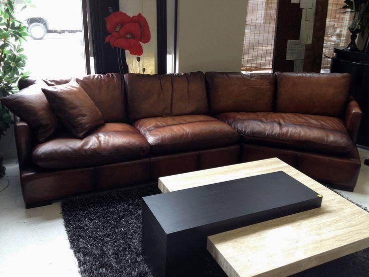 Wohnzimmer Gemutliches Wohnzimmer Design Mit Braun Leder Schnitt Brown Leder Schnitt Sofa Leather Sectional Sofas Sofa Design Brown Leather Sofa Living Room