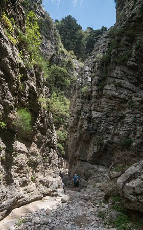 Imbros Gorge, Crete - Second most popular after Gorge of Samaria = fewer people