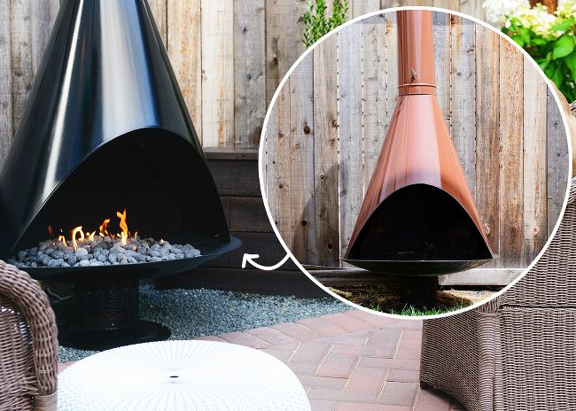 Best 25 outdoor propane fireplace ideas on pinterest Propane stove left on overnight