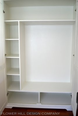 Built-in Wardrobe configuration