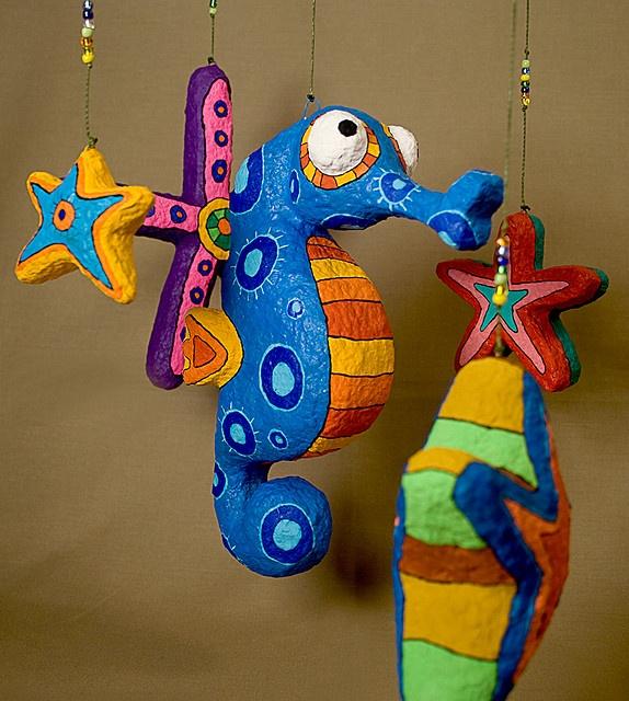 Móvil Infantil by Choicita, via Flickr