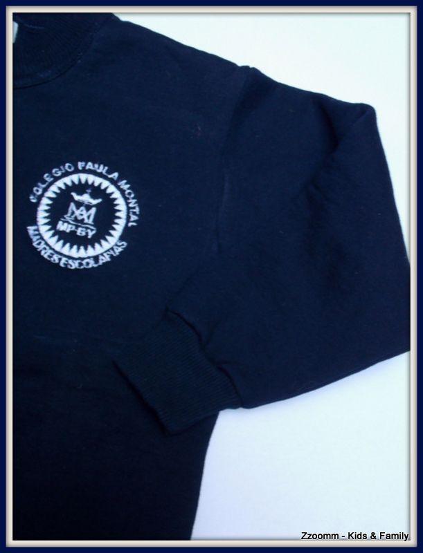 Escudo del buzo deportivo del colegio Paula Montal de Bs Aires - Argentina