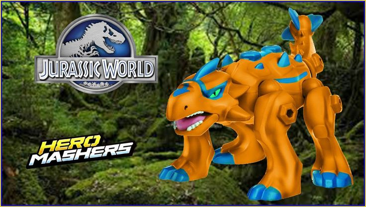 Jurassic World Ankylosaurus Hero Mashers