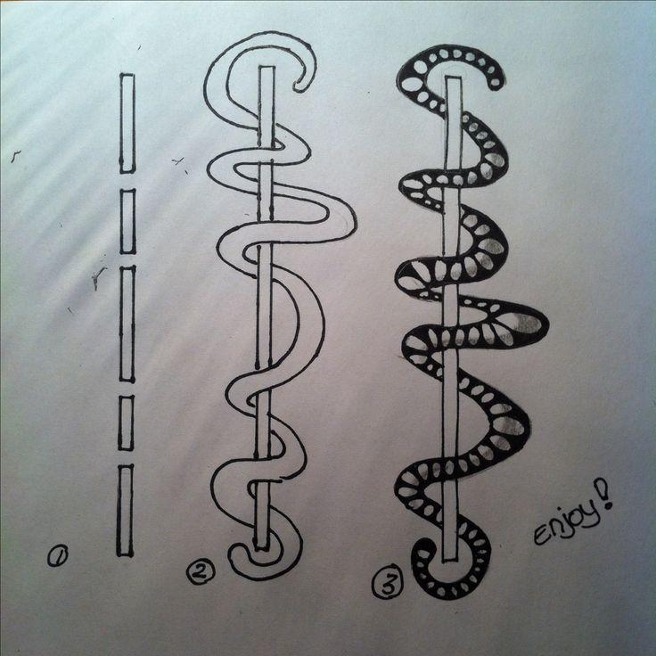 815 best zentangles doodles images on pinterest for Doodle tutorial