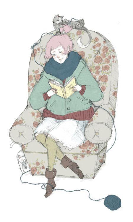reading-as-breathing by Ke-Ai | http://ke-ai.deviantart.com/