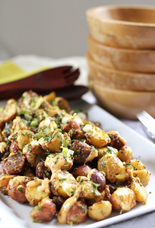 Smoky aioli grilled potato salad — The Pastiche