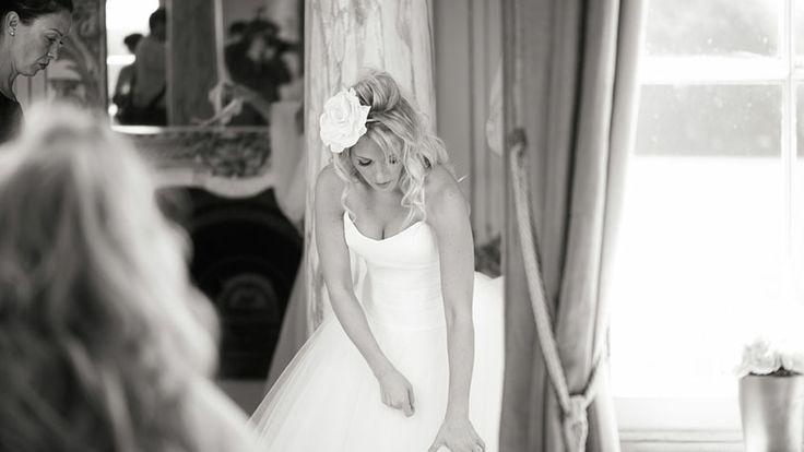 Bride in mirror at Gosfield Hall Wedding (photography by Enchantingwood)  http://www.enchantingwood.co.uk/gosfield-hall-wedding-photographer/