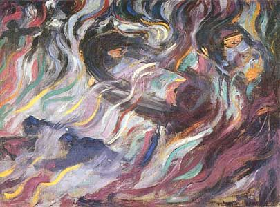 gli Addii, Umberto Boccioni