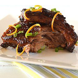 Ultimate Game Day Recipe - Orange and Soy Glazed Baby Back Ribs!