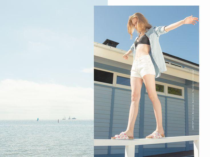#summer #lookbook #ss15 #photoshoot #photosession #shirt #shorts #levis