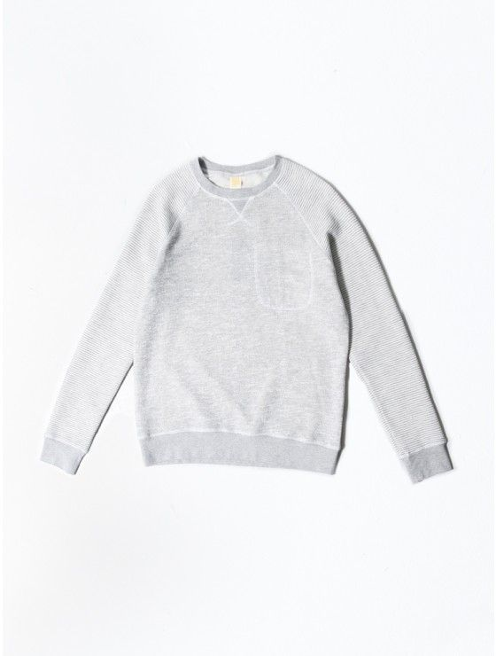 STANDARD ISSUE contrast raglan sweatshirt