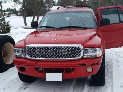 Dodge Durango 1998 2003 Chrome Mesh Grille And Headlights Set Car