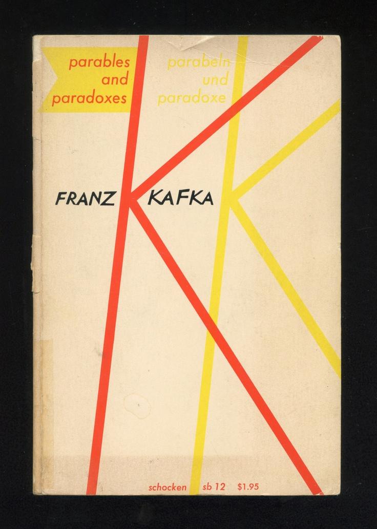 Franz Kafka   Parables & Paradoxes (1961)