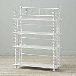 Jenny Lind White Bookcase