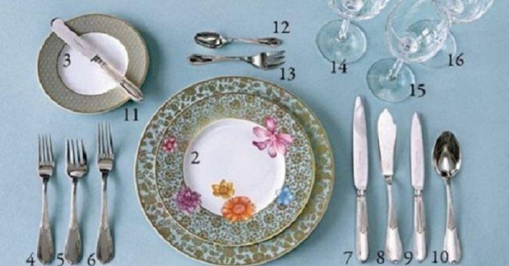 """Egy nélkülözhetetlen """"cetli"""", hogyan terítsük meg az asztalt és melyik evőeszközt mire használjuk"""