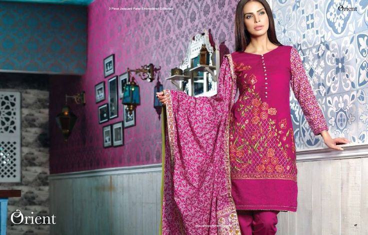 Orient Textile Sawan Collection 2016 for Girls