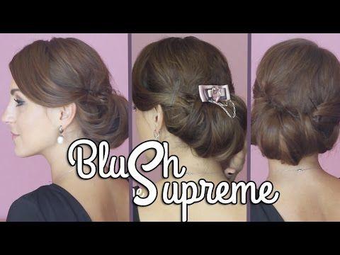 Прическа как у Кейт Миддлтон | 1 сентября | низкий пучок | BlushSupreme - YouTube
