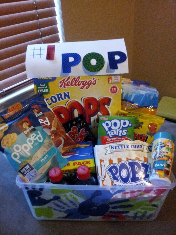 Our kids will call my dad pop great gparent day idea for Homemade gifts from toddlers to grandparents