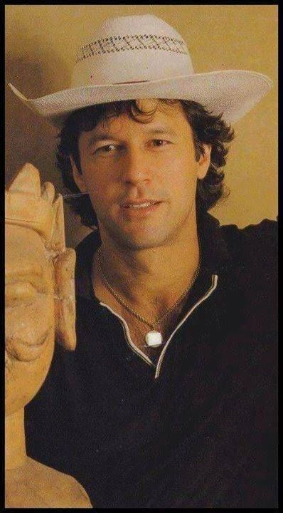 Imran khan the Cowboy look