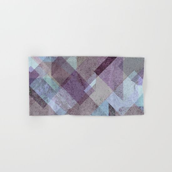 PLUM TURQUOISE ABSTRACT GEOMETRIC Hand & Bath Towel  on @society6. PLUM, PURPLE, CYAN, TURQUOISE, BLUE, RASPBERRY, GEOMETRY, GEOMETRIC, SQUARE, TRIANGLES, MINT, GRAY, STRIPES, MINIMALIST, SCANDINAVIAN, DESIGN, POP, TAPESTRIES, HOME DECOR, SOCIETY6, XIARI