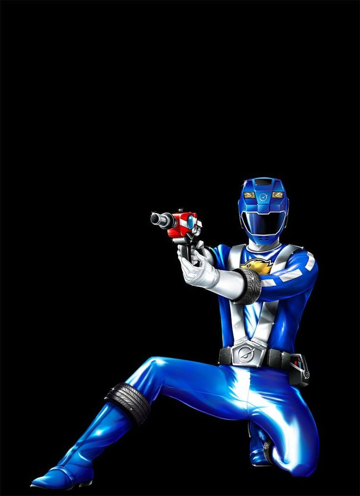 POWER RANGERS RPM - BLUE RANGER by DXPRO