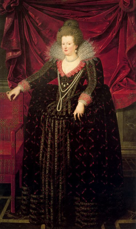 1622 Maria de Medici by Frans Pourbus the Younger (Museo de Bellas Artes de Bilbao, Bilbao Spain)