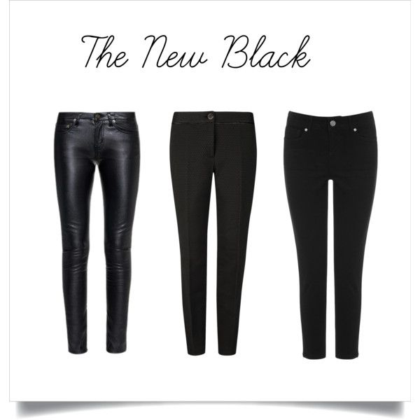the new black by mariacuan on Polyvore featuring moda, Yves Saint Laurent, Ted Baker and Oasis