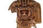 Maya Rise and Fall; Popol Vuh Museum; Guatemala City; Universidad Francisco Marroquin; Incensario; Guatemala; Mayan; Maya; Ancient Cultures; artifact, Teotihuacan Style