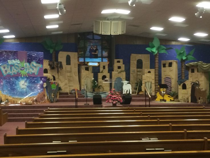 Blast to the Past VBS