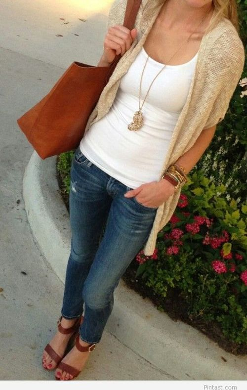 Outfit with jeans | Pintast