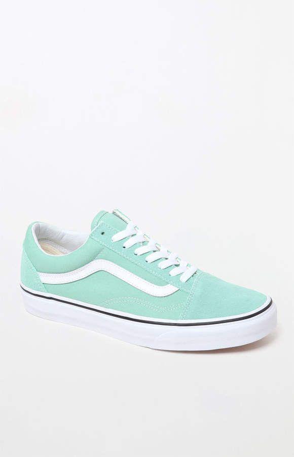 Vans Women's Mint Old Skool Sneakers | Running shoes for men