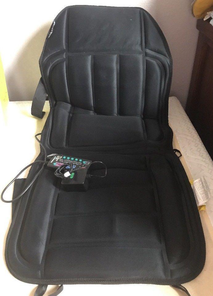 Homedics Back Pleaser Ultra Therapist Massager Heat Chair Cushion