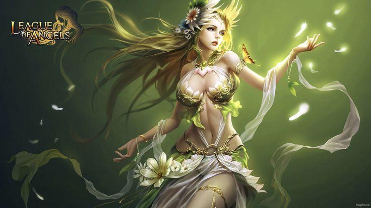 Ivy Edwards - Best league of angels backround - 1920x1080 px