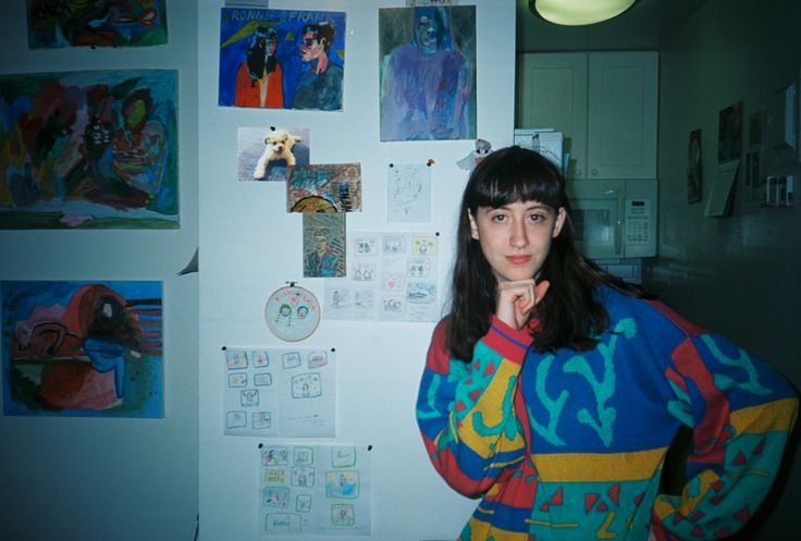 """ Frankie Cosmos, august 2015 by Julia Leiby "" ~i don't wanna die I just wanna be dead"