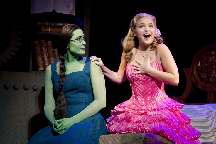 """And with an assist from me, to be who you'll be! Instead of dreary who you were. Well, are."" -Galinda"