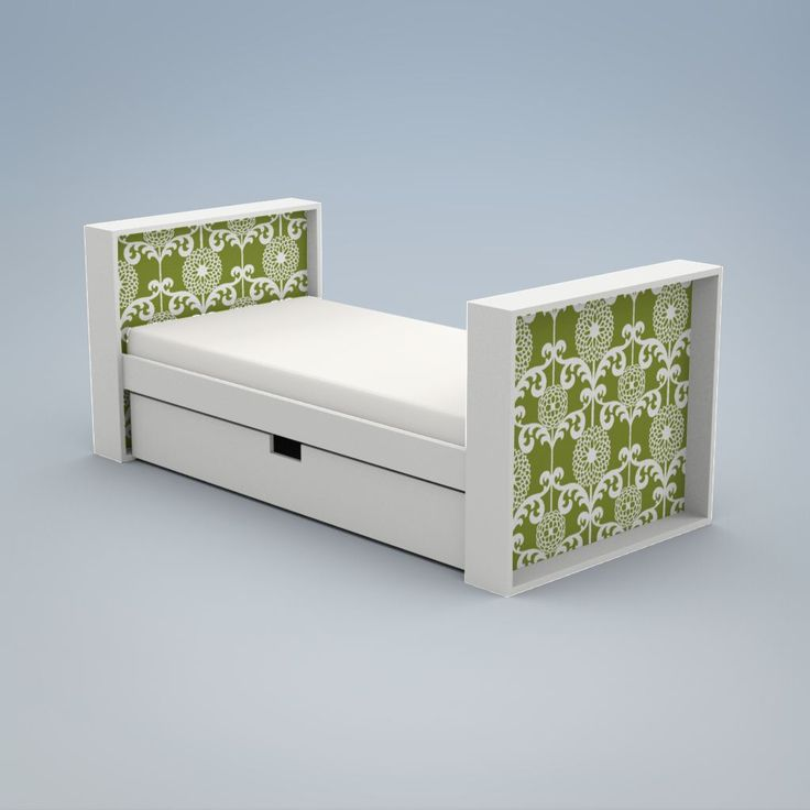 ducduc product parker upholstered youth bed