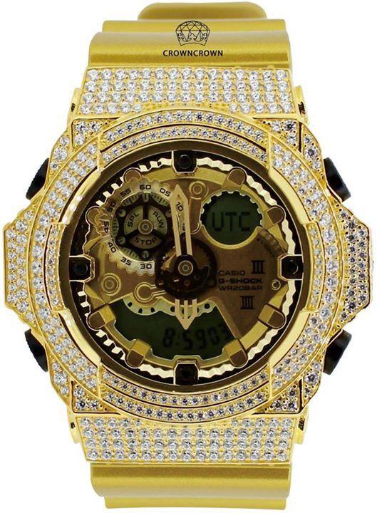 Custom watch #크라운크라운 #g-shock #casio #카시오