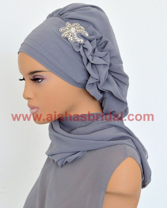 Ready To Wear Hijab  Code: HT-0223 Hijab Muslim by HAZIRTURBAN