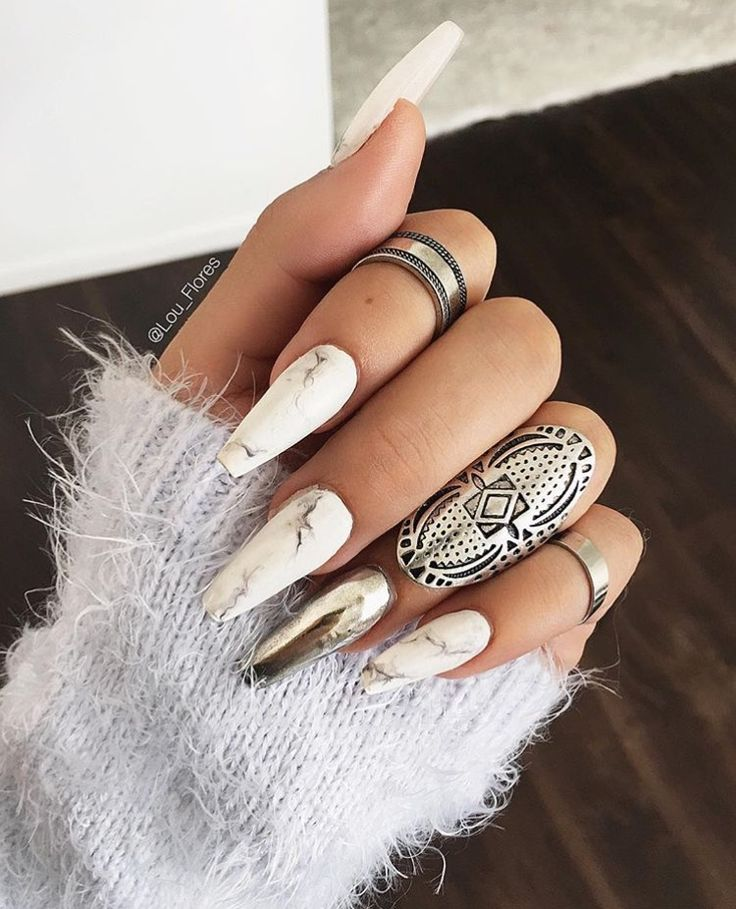 Marble and Chrome