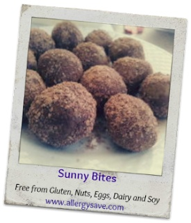 Sunny Bites  Allergy friendly & Gluten free  www.allergysave.com